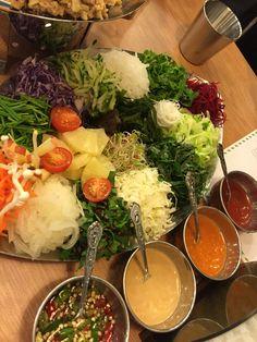월남쌈. 별 셋. 쌈마니. Nowongu, Seoul, Korea