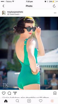 Vintage Swimsuits, One Piece, Swimwear, Fashion, Bathing Suits, Moda, One Piece Swimsuits, Fashion Styles, Vintage Bathing Suits