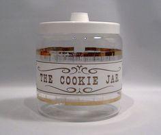 Vintage Pyrex Glass Cookie Jar Barrel by Lifeinmommatone on Etsy, $12.00