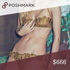 ISO FLL GOLD PANTY For love and lemons gold underwear to match the bra, can be any style as long as the color matches! For Love and Lemons Intimates & Sleepwear Panties