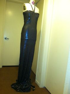 Evening dress by Ruben Vargas