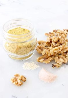 Vegan Parmesan Cheese Ingredients: Walnuts, Nutritional Yeast, Sea Salt and Garlic Powder Walnuts Nutrition, Nutrition Bars, Recipes With Parmesan Cheese, Vegan Parmesan Cheese, Cheese Recipes, Fudge Brownies, Zucchini Zoodles