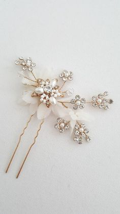 121 best Bridal hair combs and pins images on Pinterest in 2019 ... ec76a32528ae