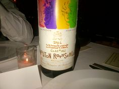 I will never forget this bottle of wine!
