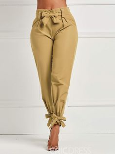 Ericdress Bowknot Plain Loose Women's Pants, You can collect images you discovered organize them, add your own ideas to your collections and share with other people. Pink Fashion, Boho Fashion, Fashion Outfits, Womens Fashion, Cheap Fashion, Fashion Shoes, Pants Outfit, Women's Pants, Loose Pants