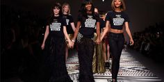 Naomi Campbell and Her Famous Friends Kick Off London Fashion Week. Rock royalty and legit nobility walked the runway to help the Ebola crisis.