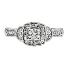 1/2 ct. tw. Diamond Engagement Ring in 10K Gold