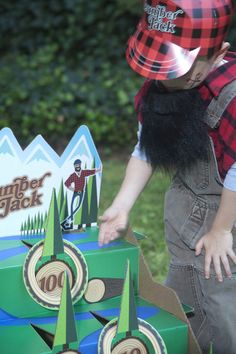 Lumber Jack Party Planning Guide #Kids #Party #BirthdayExpress