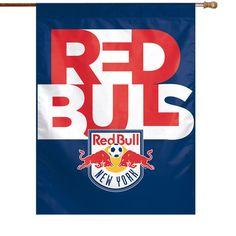 New York Red Bulls WinCraft 27'' x 37'' Vertical Banner Flag - $15.92