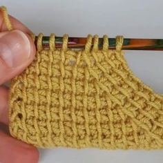45 Interessanti Immagini Di Crochet Tunisino Uncinetto Tunisino