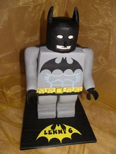 Lego Batman  Cake by Kazmick-love this!
