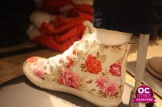 Need these floral kicks - Oshawa Centre Style Approved by Life Runway - Find it at Aeropostale Aeropostale, Real Life, Centre, Kicks, Runway, Sneakers, Floral, Shoes, Style