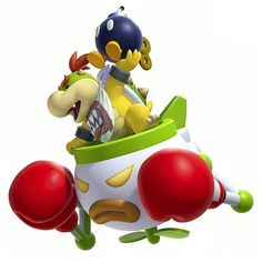 This is Bowser Jr. as he appears in New Super Mario Bros. He first appeared in Super Mario Sunshine. He is one of the bosses of the game who Mario an. New Super Mario Bros. U: Bowser Jr. Super Mario Bros, Super Mario Kunst, Super Mario World, Super Mario Brothers, Super Smash Bros, Mario Bros., Mario Party, Mario And Luigi, Yoshi