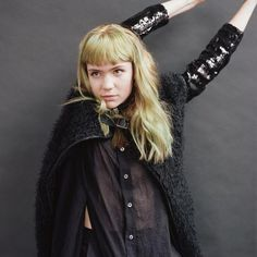 Grimes. #fashion #icon