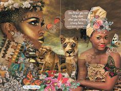Among Lions- card