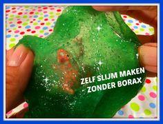 DIY: niet-giftige slijm maken zonder borax of vloeibaar stijfsel