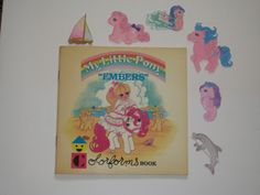 "1985 Colorforms My Little Pony Book ""Embers"" with 18 Pieces"