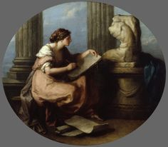 Design Angelica Kauffman, R. (Swiss, Oil on canvas. Royal Academy of Arts, London. Kauffman was commissioned to paint four allegorical images of the elements of art for the. Chur, Angelica Kauffmann, Fresco, Roi George, Georgia O'keeffe, Ouvrages D'art, Royal Academy Of Arts, Art Uk, Elements Of Art