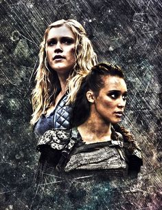 Clexa / Lexarke on Pinterest | The 100, Fan Art and Eliza Taylor