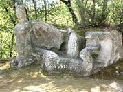 El mítico parque de los monstruos en Italia