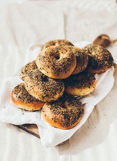 ... homemade bagels ...