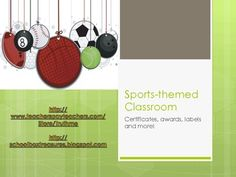 Are you planning on having a sports themed classroom next year