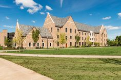 Dunne Hall - a new men's residence hall on East Quad
