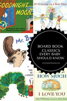 Board Book Classics that every baby should know. These are perfect for baby showers or baby's first library.