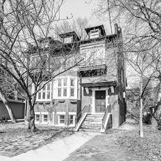 Converting this historical home into a spectacular 3 story condo with a modern addition won't be easy but it's well worth it! Group Of Companies, Building A House, Toronto, Condo, Wellness, Construction, Cabin, Posts, House Styles