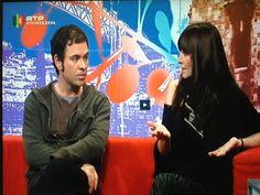 O realizador Pedro Neves  e Luísa Sequeira na RTP Internacional.