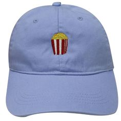 11a50f33565 Capsule Design Popcorn Dad Hat in Sky Blue