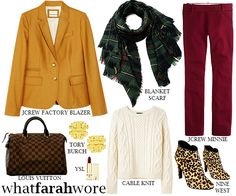 Rustic Chic: What Farah Wore 2.25.15
