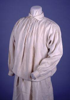 Men's Beige Linen Shirt (1840)