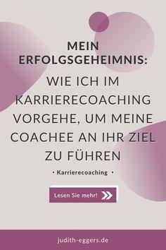 Der Vorteil eines Karrierecoachings? Mit mir als Sparringpartner wissen Sie, dass ich Sie niemals alleine lasse! Ich begleite Sie auf Ihrem Weg in den neuen Job, auf Ihrem Weg den Traumjob zu ergattern oder den Berufseinstieg als Hochschulabsolvent. Mit dem Blick von außen und langjähriger Erfahrung als Personalexpertin und Personalleiterin. Erfahren Sie, wieso jeder meiner Coachee von unserer Zusammenarbeit profitiert. Coaching, Business Coach, Neuer Job, Career Counseling, Dream Job, Training