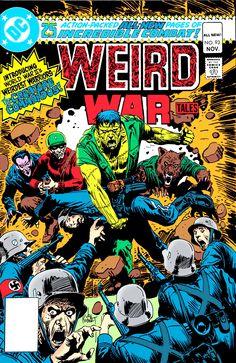 Weird War Tales #93 - The Creature Commandos! - Cover Art by Joe Kubert