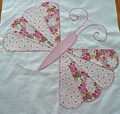 Butterfly quilt - pink