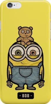 """Minion bob"" Chibi minions iphone 6 case only $26"