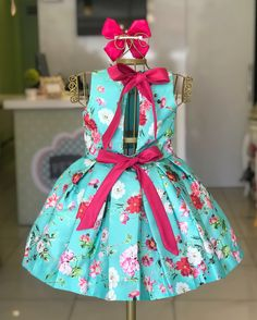 Girls Spring Dresses, Dresses Kids Girl, Girl Outfits, Fashion Outfits, Chic Baby, Beautiful Long Hair, Kids Wear, Frocks, Kids Girls