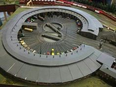 Roundhouse, now that is cool!