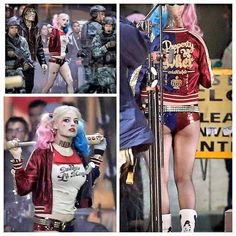 Character: Harley Quinn / From: DC Comics & Warner Bros. 'Suicide Squad' / Actress: Margot Robbie