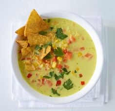 Paprika-Mais-Suppe Rezept - [ESSEN UND TRINKEN]