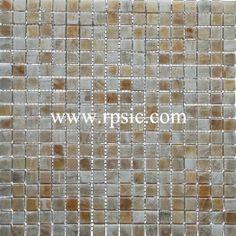 Honey Onyx Mosaic 5/8x5/8 Polished MSP-23