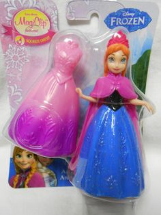 Disney Frozen Anna of Arendelle Magiclip Doll BNIP ~ Great Cake Topper!! CUTE!   #Disney