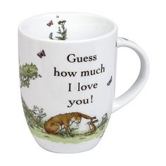 """Konitz """"Guess How Much I Love You"""" 4-pc. Mug Set from Kohl's"""