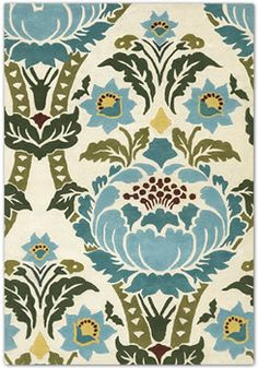 I heart this Amy Butler rug