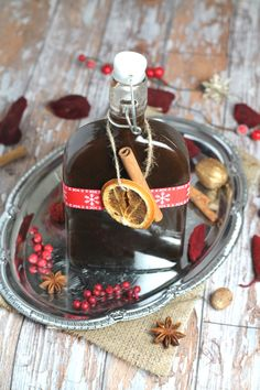 Homemade Mulled Syrup