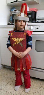 Make a Roman Centurion Costume