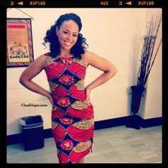 Elle Varner was spotted wearing the Loop Dress in Tribal Print. You can steal her look because the Loop Dress is now on sale!