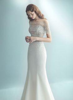 Wedding Dress Trends, Dream Wedding Dresses, Wedding Girl, Wedding Gowns, Elegant Dresses For Women, Beautiful Dresses, Party Wear Dresses, Bridal Dresses, Sleeves Designs For Dresses