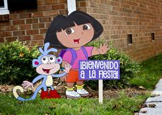 "Photo 1 of 22: Dora the Explorer / Birthday ""Dora!"" 